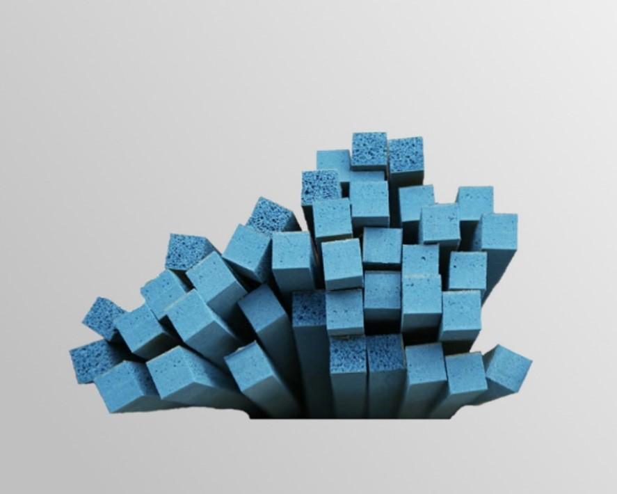 eco rubber blu
